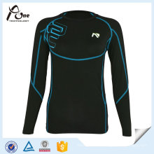 65% Nylon 35%Elastane Ladies Shirts Women Active Wear